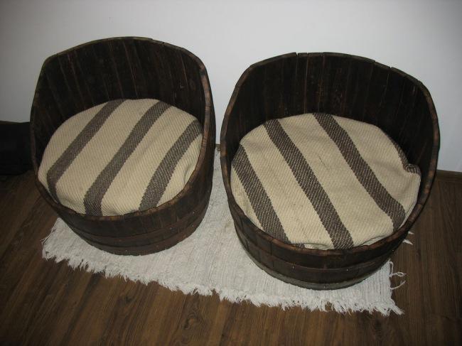 Как сделать кресло из бочки своими руками