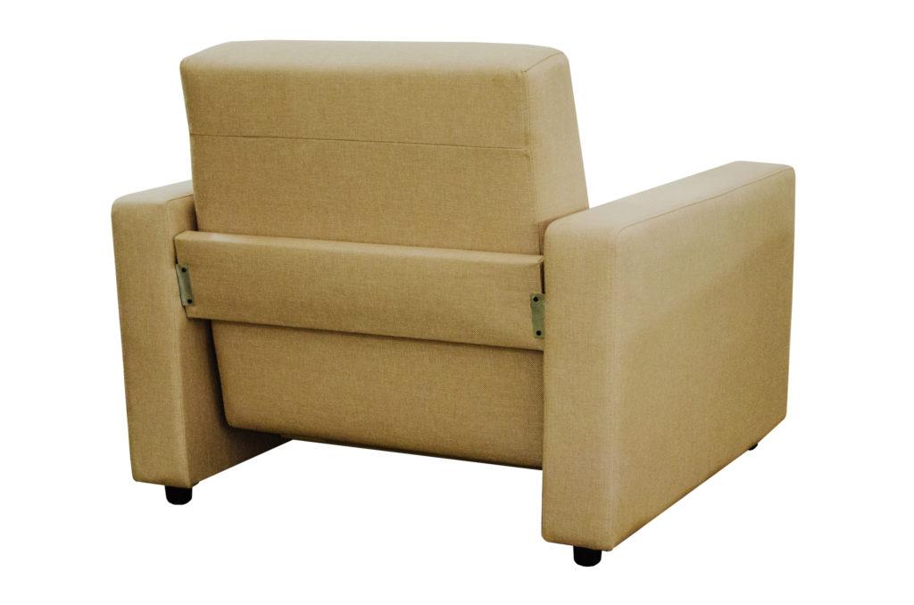 Как сделать мягкое современное кресло на основе бруса