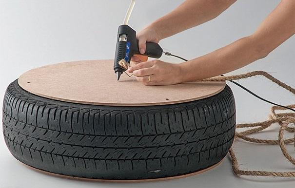 Как сделать садовое кресло своими руками на оснвое колес