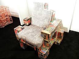 Как создать кресла из книг