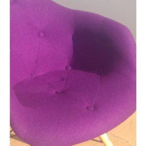 Как выбрать хорошее кресло фиолетового цвета