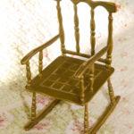 Как выглядит бронзовое кресло