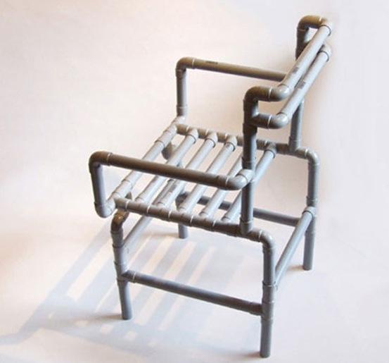 Каркасные кресла из труб