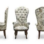 Классическое кресло, созданное из бронзы
