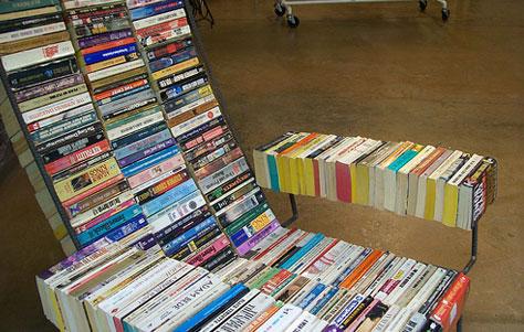 Книжное кресло для дома