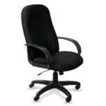 Компьютерное кресло в черном цвете