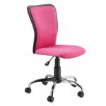 Компьютерное розовое кресло