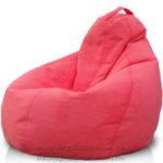 Коралловое кресло мешок для дома