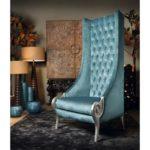 Королевское бирюзовое кресло