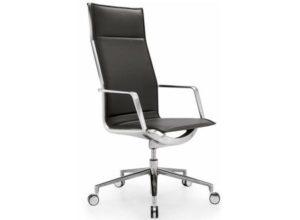Красивое алюминиевое кресло