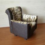 Красивое и недорогое кресло на оснвое картона