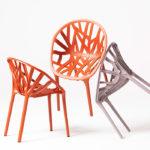 Красивое пластиковое кресло для любого интерьера