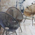Красивые кресла из каната