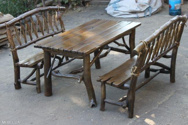 Красивые оригинальные кресла из коряги