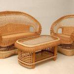 Красивые современные кресла, созданные из бамбука