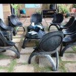 Красивые удобные кресла на основе колес