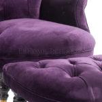 Кресла для дома пурпурного цвета