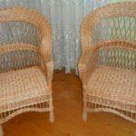 Кресла для обустройства дома из лозы
