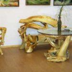 Кресла на основе коряги
