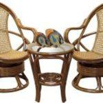 Кресла, созданное из бамбука