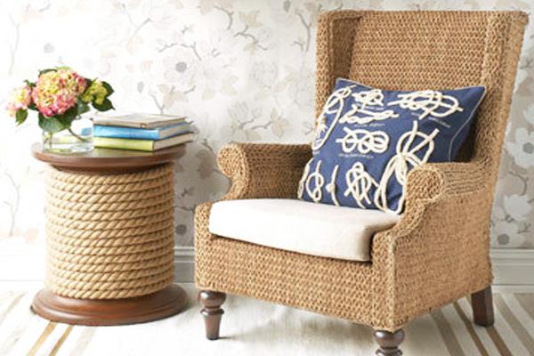 Кресла, созданные на основе каната