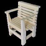 Кресло для бани на основе липы