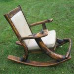 Кресло для дома на основе дерева