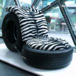 Кресло для интерьера дома из колес