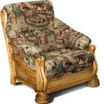Кресло для отдыха из сосны