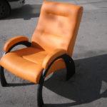 Кресло для отдыха офисное мягкое из ольхи