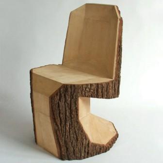 Кресло из бруса своими руками