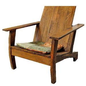 Кресло из дерева созданное своими руками