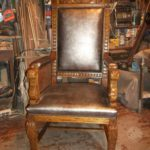 Кресло из дуба