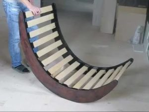 Кресло из ламината