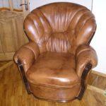 Кресло из натурального ясеня