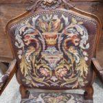 Кресло из ореха в стиле рококо
