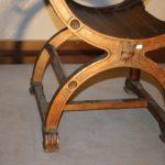 Кресло из орехового дерева