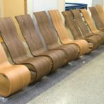 Кресло из практичного ламината
