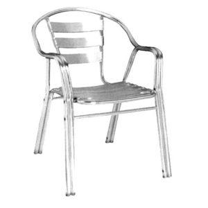 Кресло, изготовленное из алюминия