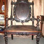 Кресло, изготовленное на основе ореха