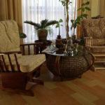 Кресло качалка, созданная на основе бука