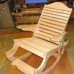 Кресло на массиве бука