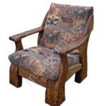 Кресло под старину на основе сосны