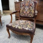 Кресло созданное из ореха
