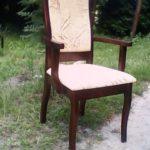 Кресло, созданное на основе березы