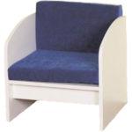 Кресло, созданное на основе ламинатных досок