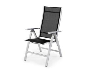 Кресло светлых тонов из алюминия