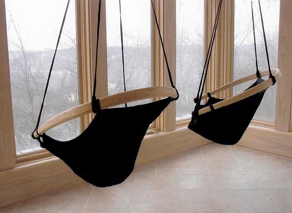 Кресло своими руками, созданное из каната