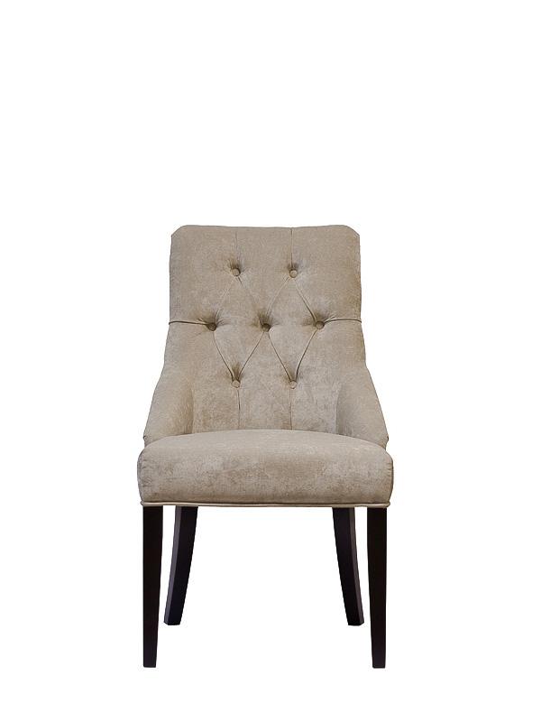 Кресло в современном дизайне, созданное из велюра