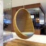 Кресло яйцо из каната